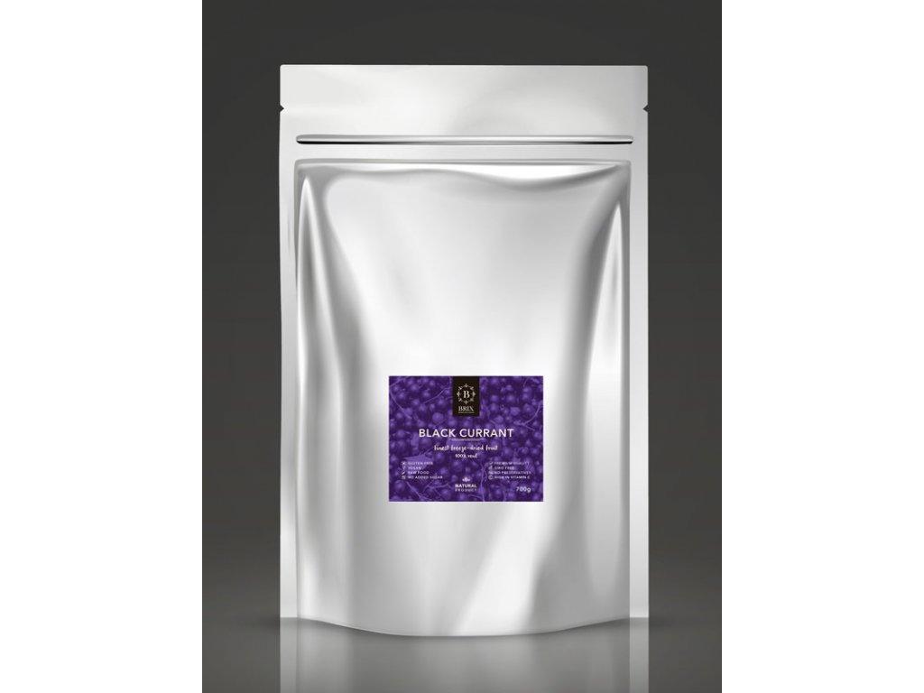 Mrazom sušená čierna ríbezľa - XXL 700g