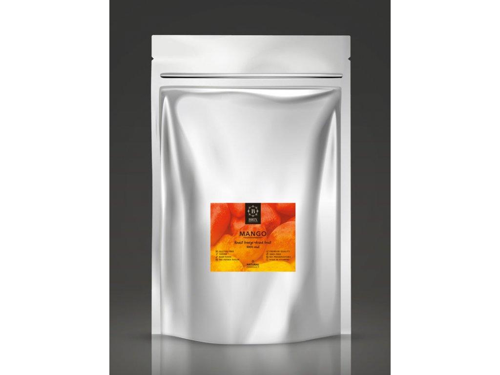 Mrazom sušené mango - XXL 500g