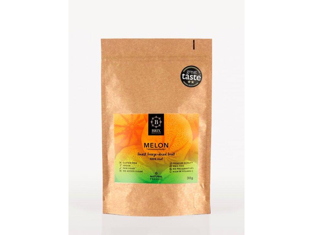 Mrazom sušený melón Cantaloupe 30g -