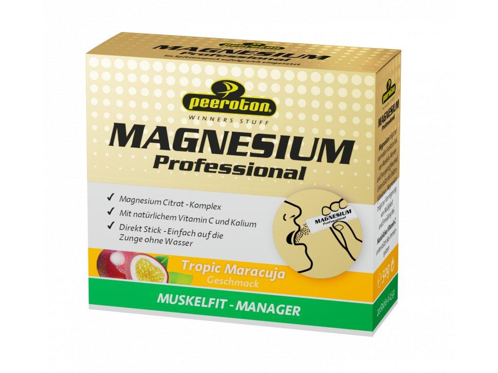magnesium profesional rychlorozpustne v ustach s prichutou tropicke ovocie 20x25g 77
