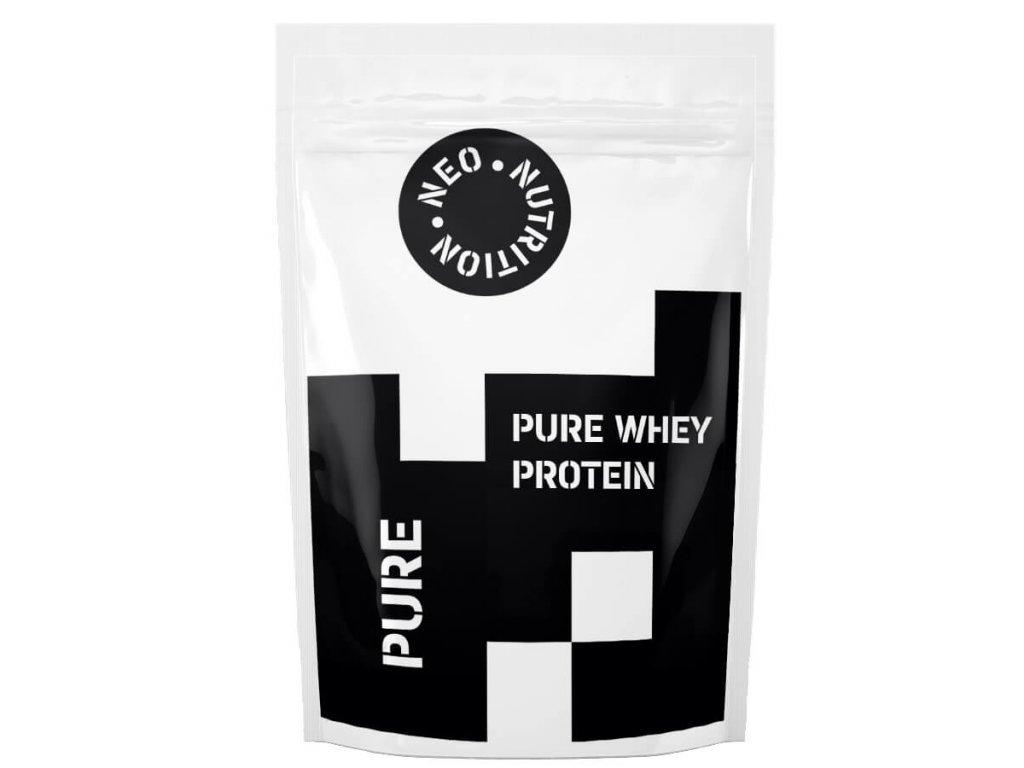 Pure Whey srvátkový proteín WPC80 Vanilka 2,5kg Neo Nutrition