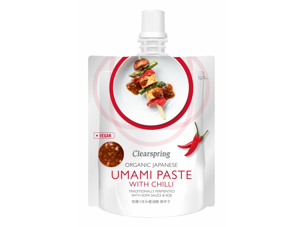 Umami pasta s chilli, bio - Clearspring, 150g
