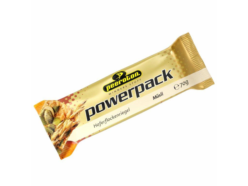 powerpack ovsena tycinka cerealna 70g peeroton 168