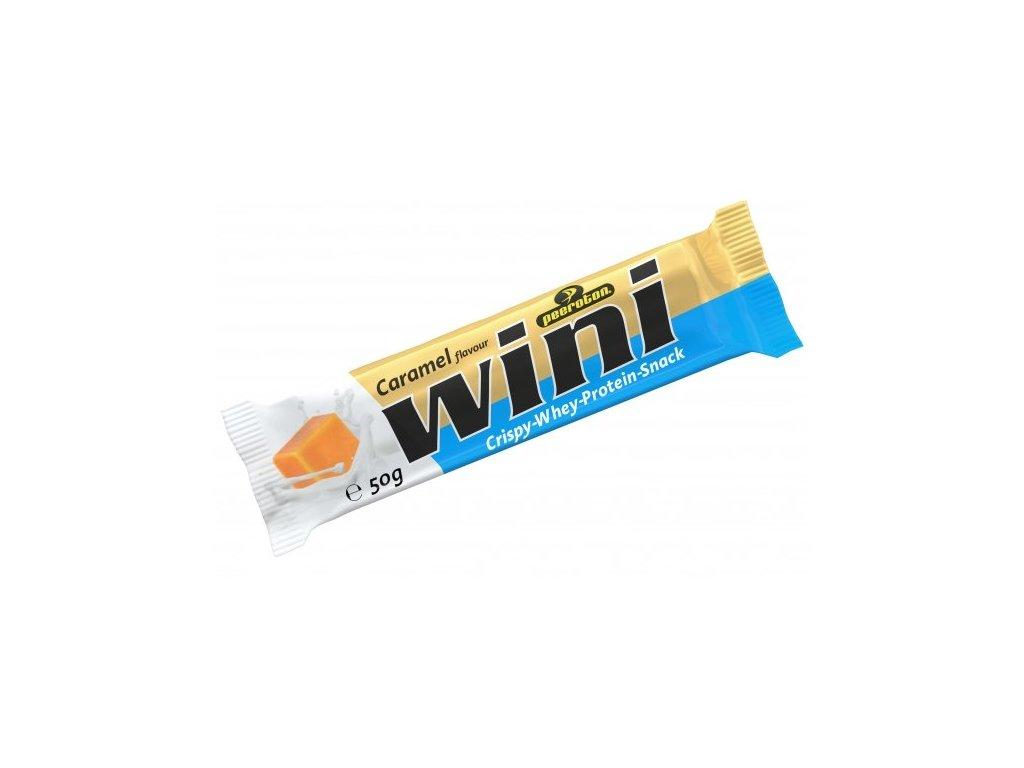 wini chrumkava proteinova tycinka karamel 50g 60