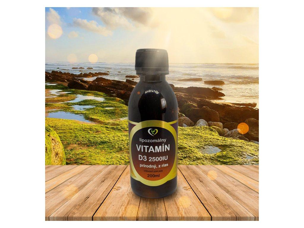 lipozomalny vitamin d3 prirodny z rias