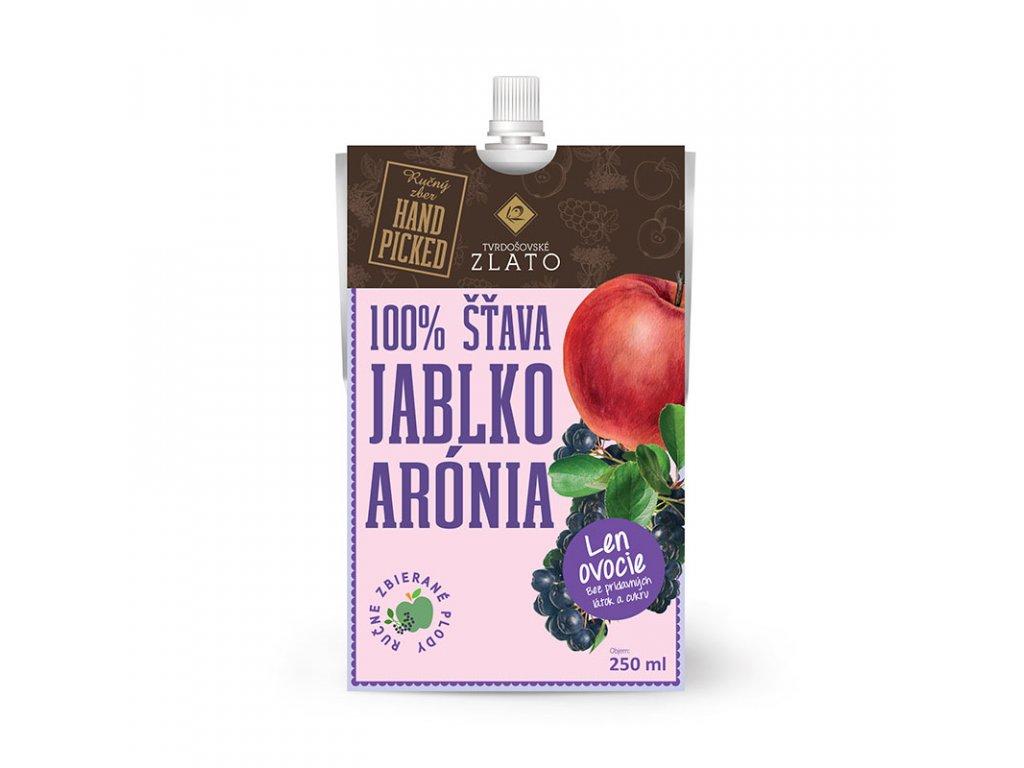 Tvrdošovské zlato 100% Jablková šťava s Bio aróniou 250 ml