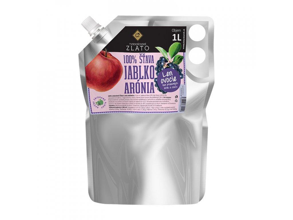Tvrdošovské zlato 100% Jablková šťava s Bio aróniou 1l