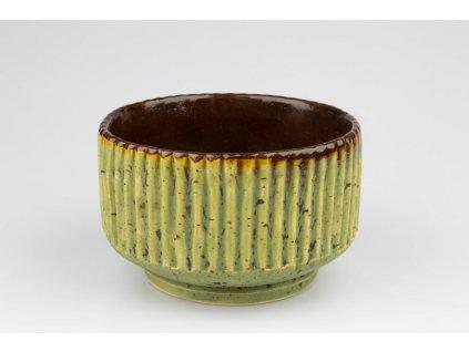 Matchaday.sk Balík - Tradičná príprava - BIO Jimen 30g (plechovka) Farba misky (chawan):