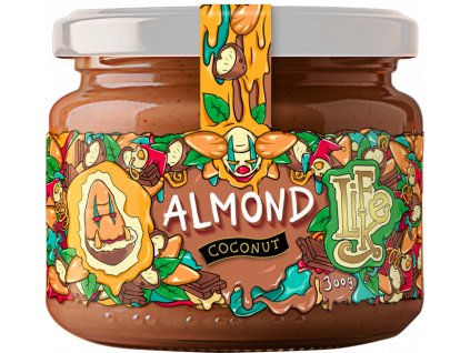 LifeLike Almond Coconut (mandle, kokos, kakaové boby) 300g