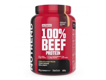 100% BEEF PROTEIN - čokoláda + lieskový orech 900 g