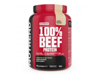 100% BEEF PROTEIN - mandľa + pistácia 900 g