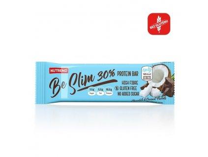 BE SLIM PROTEIN BAR 30% - čokoláda + kokos, 35 g