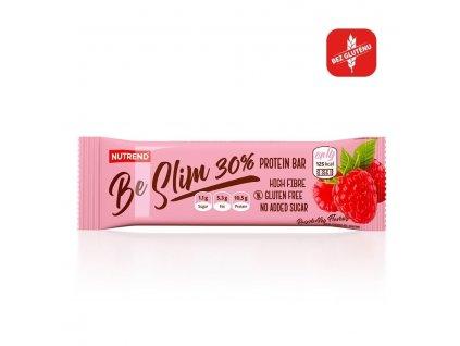 BE SLIM PROTEIN BAR 30% - malina, 35 g