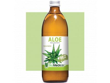 Šťava z Aloe 99.8% EkoMedica SK