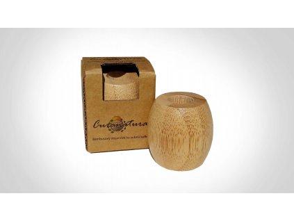 Bambusový stojánek na zubní kartáček - malý, Curanatura