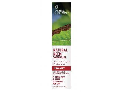 Zubní pasta NEEM - skořice a máta