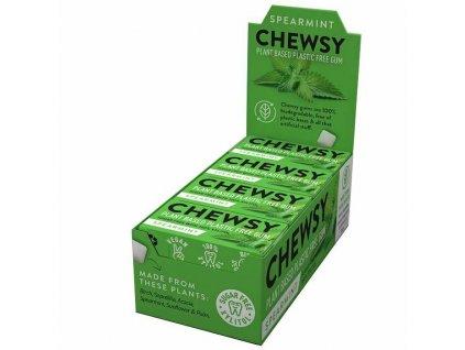 Chewsy žvýkačky - Máta kadeřavá (Karton 12 balíčků)