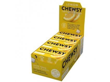 Chewsy žvýkačky - Citron (Karton 12 balíčků)