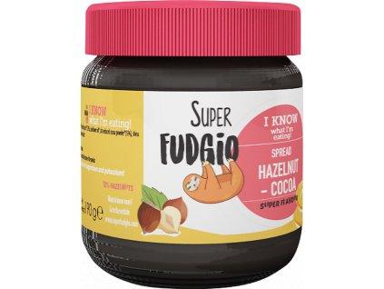 Lískooříškovo-kakaový krém, bio, vegan – Super Fudgio, 190 g