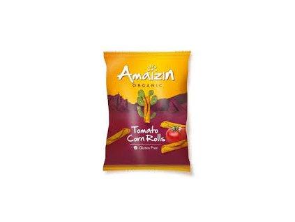 Chipsy kukuřičné rajčatové 100g Bio AMAIZIN