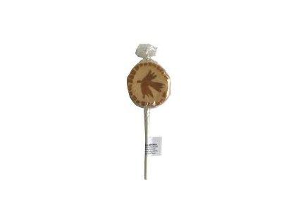 Lízátko z javorového sirupu, list javoru 10g (ploché ), Marksman