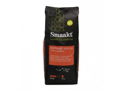 Espresso Sicilia - 100% Arabica, BIO zrnková káva - Smaakt, 500 g