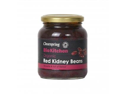 Fazole červená ledvina sterilovaná, bio - Clearspring, 350g