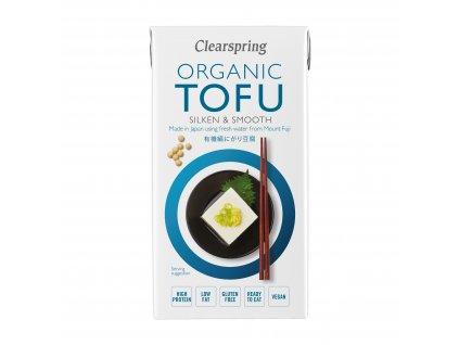 Hedvábné tofu, bio - Clearspring, 300g