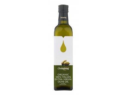Italský extra panenský olivový olej, bio - Clearspring 500ml
