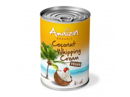 Kokosový krém na šlehání 400ml Bio AMAIZIN