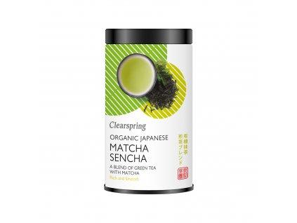 Japonský bio zelený čaj Sencha a Matcha, bio - Clearspring, 85g