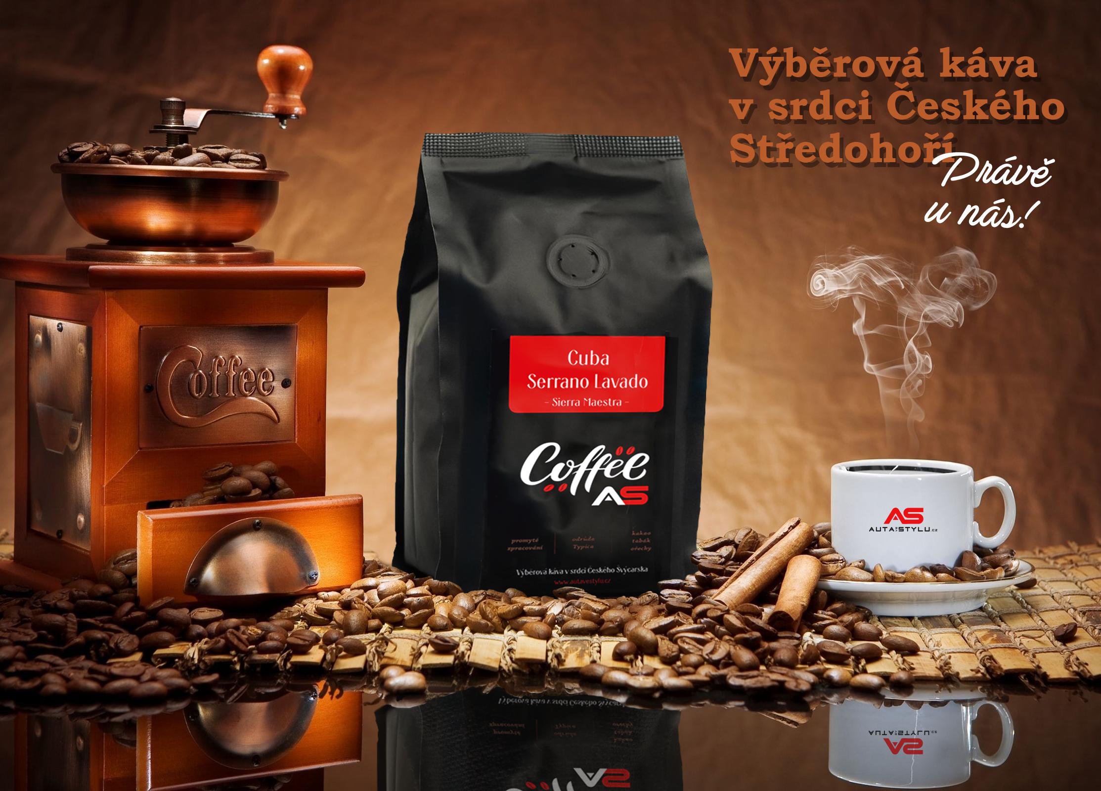 Výběrová káva v srdci Českého Středohoří právě u nás