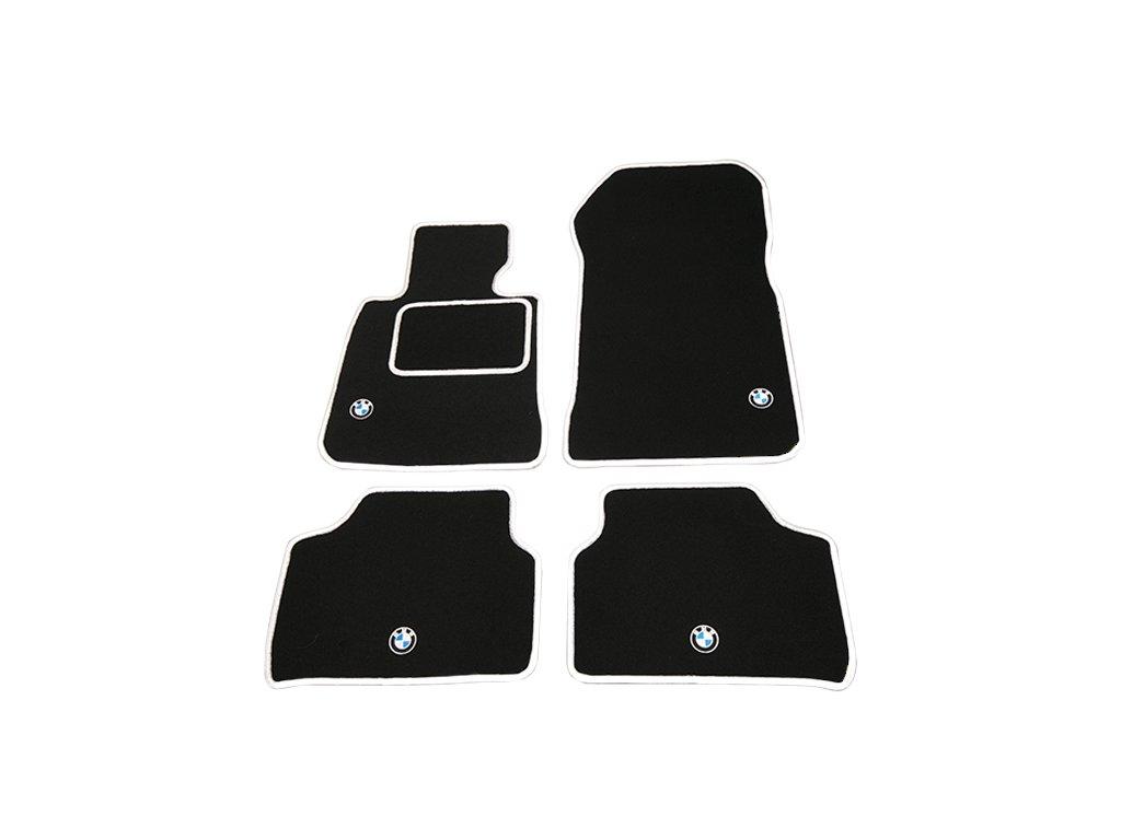 Nové textilní koberečky pro BMW E60