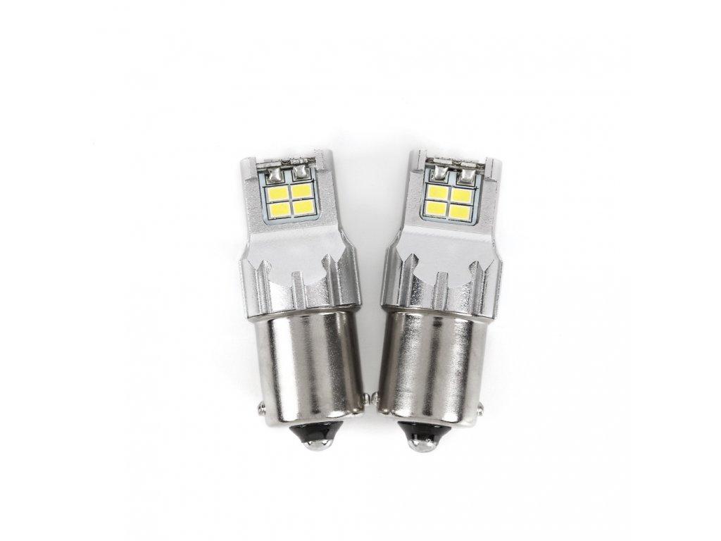 Autožárovky LED BA15S model 3KGS 2 ks