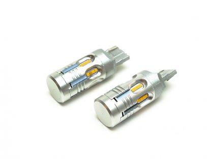 LED autožárovky blinkrů univerzální T20