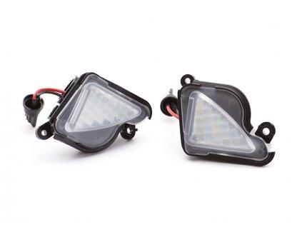 LED osvětlení nástupního prostoru pro Superb II