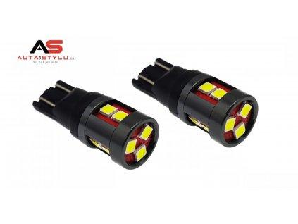 Autožárovky LED T10 W5W (parkovačky) 2 ks