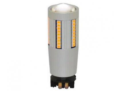 LED autožárovky blinkrů PW24W univerzální 66 SMD diod