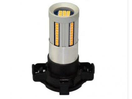 LED autožárovky blinkrů PY24W univerzální 66 SMD diod