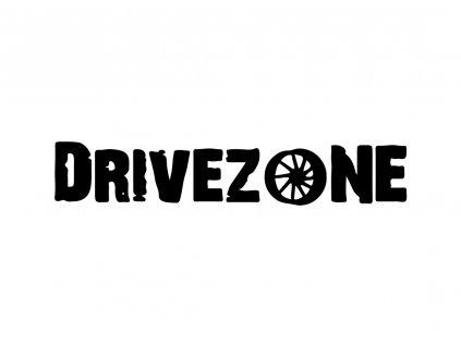 Samolepka Drivezone.cz 20 x 3 cm