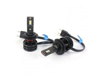 LED sada autožárovky H7 model M2 (do parabol, neoslňují) 2 ks