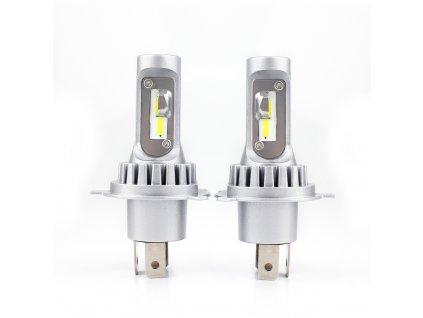LED sada autožárovky H4 model V10 2 ks