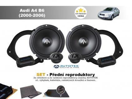 predni repro Audi A4 B6 (2000 2006)