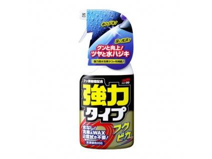 SOFT99 FUKUPIKA Spray Strong Type – waterless čistič s plnohodnotným voskem