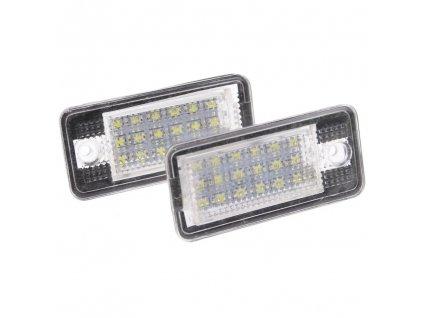 LED osvětlení SPZ pro Audi A3 /A6 4F / A8 / Q7 2 ks