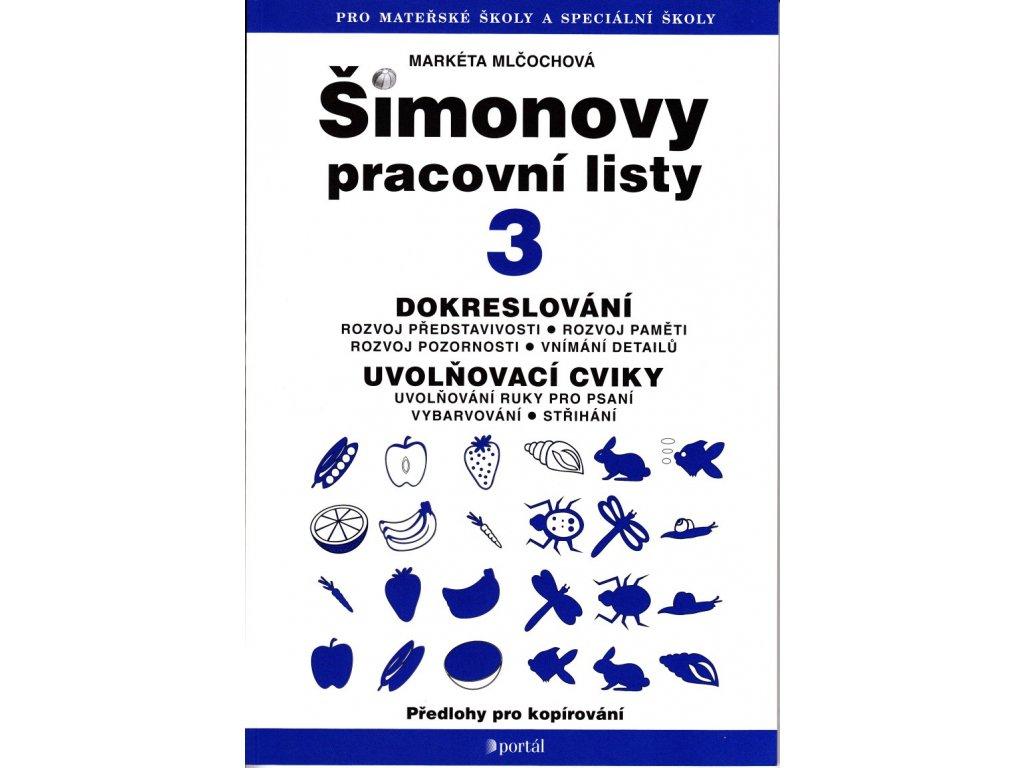 Simonovy Pracovni Listy 3 Dokreslovani Uvolnovaci Cviky Z
