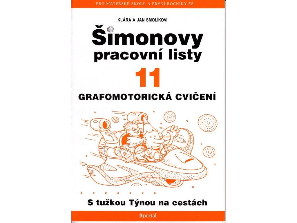Simonovy Pracovni Listy 11 Grafomotoricka Cviceni Z Jineho Sveta