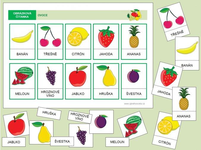 ovoce barevné