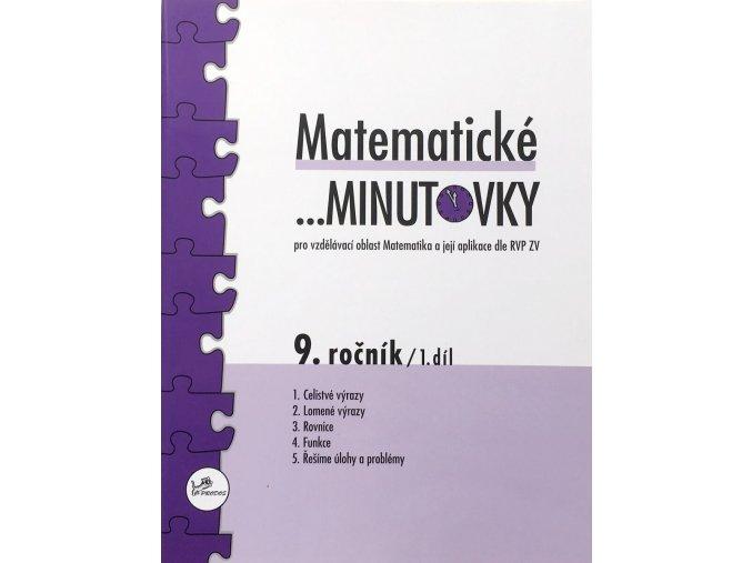 Matematické minutovky 9. ročník / 1. díl