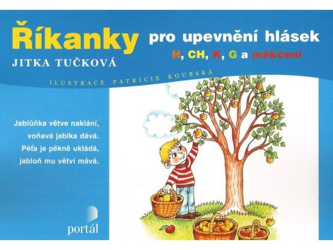 Říkanky pro upevnění hlásek - Jitka Tučková. Logopedie